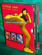 NEW RARE OOP EXTREME JACKIE CHAN ACTION PACK 3 MOVIE COLLECTION 3 DISC BOXED DVD