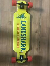Landshark Island Style Longboard Yellow New Without Tags
