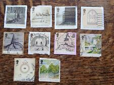GB Commemoratives 2004 The Lord Of The Rings, Set Of 10 Franked On Paper