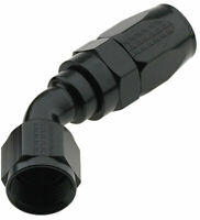 FRAGOLA 224508-BL Hose Fitting 8 AN 45 Degree Pro Flow Black