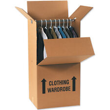 1 Large XL Strong Removal Moving Storage Wardrobe Cardboard Boxes 24hr