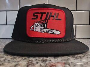 Stihl Chainsaw Trucker Hat Vintage Style