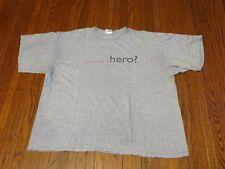 Men's VTG 90's Nike P.L.A.Y. Corps Can You Be A Hero Grey T-Shirt sz XL