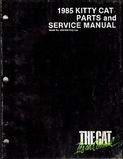 1985  ARCTIC CAT KITTY CAT PARTS &  SERVICE MANUAL USED P/N 2254-312  (316)