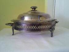 Vintage Silver Plate Buffet Dish 3 Pieces