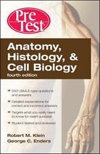 Anatomy, Histology, & Cell Biology: PreTest Self-Assessment & Review, Fourth Edi