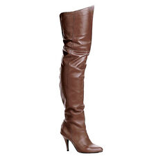 "PLEASER Legend-8868 4"" Heel Thigh-High Boots"