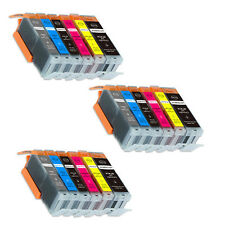 18 PK Ink Cartridges with GRAY + Chip for Canon PGI-250 CLI-251 MG6320 MG7520