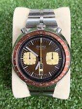 SEIKO BULLHEAD 6138-0040 BROWN vintage watch. ALL ORIGINAL! GOOD CONDITION!