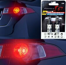 Canbus Error Free LED Light 912 Red Two Bulbs High Mount Stop 3rd Brake OE Stock