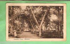 EGYPT  MILITARY POSTCARD -  1918, ON ACTIVE SERVICE, ISMALLIA