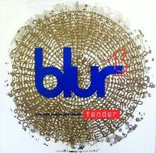 BLUR 13 TENDER CD LP RECORD STORE PROMO WINDOW DISPLAY DECAL *RARE