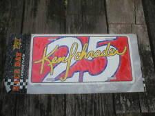 Ken Schrader #25 License Plate (NEW in the original package) Vintage NASCAR