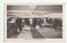 HMS Victory, Aft Deck General View Postcard, A838