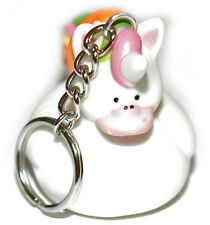 CUTE RUBBER UNICORN DUCK KEY CHAIN (KC003)