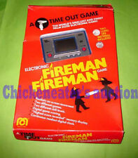 80s NINTENDO MEGO ELECTRONIC GAME & WATCH FIREMAN FIRE RARE RETRO *BOXED*