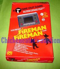 80s NINTENDO MEGO ELECTRONIC GAME & WATCH FIREMAN FIRE RARE RETRO *BOXED*