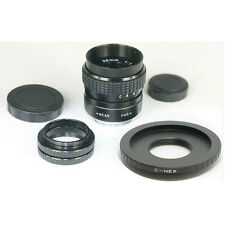 Fujian 25mm F1.4 CCTV Movie lens + Mount to Sony Nex 7 6 5 3 F3 5C VG20EH VG10E