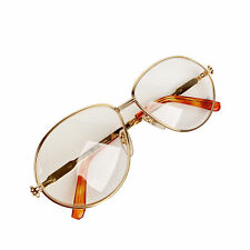 Authentic Gerald Genta Vintage Eyeglasses Gold Plated New Classic 06 140 mm