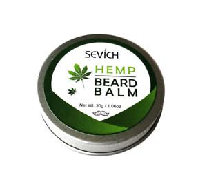 Beard mustache Balm 30g Premium Quality Softens Styles Facial Hair Care Hemp