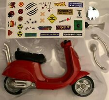 DEADPOOL VESPA SCOOTER VEHICLE Marvel Legends HASBRO 2020  Complete w STICKERS