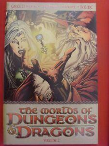 WORLDS DUNGEONS DRAGONS VOL.2 DDP TPB COMIC 1ST PRINT GREENWOOD MOORE 2008 NM