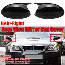 For BMW E90 E91 E92 E93 PRE-LCI Gloss Black M3 Style Side Mirror Cover Caps