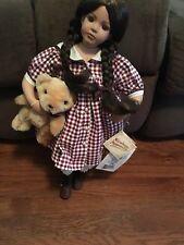 NEW NURNBERGER PUPPENSTUBE Rare SARAH German Porcelain Doll With Certificate