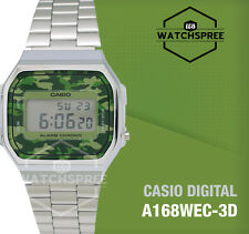 Casio Standard Digital Vintage Series Watch A168WEC-3D