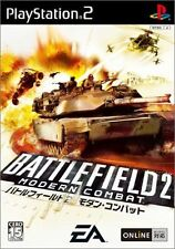 Used PS2 Battlefield 2: Modern Combat  SONY PLAYSTATION JAPAN IMPORT