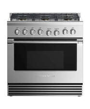 "Fisher & Paykel 36"" Stainless Steel Pro Style 6 Burner Gas Range Brand New!"