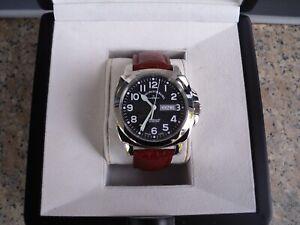 Neue Zeno Watch Basel Herrenuhr automatik Swiss Made ETA 2836 mit Tag Datum