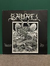 Samael - Worship Him LP 1991 (France Osmose Productions – OP 001)