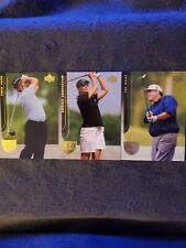 Lot Of 3 2004 Upper Deck Golf Cards Fred Funk/annika Sorenstam/jay Haas