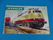 Marklin Katalog Catalog 1966-67 NL