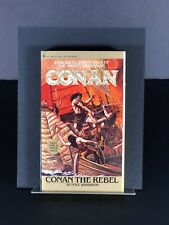 Conan The Rebel by Paul Anderson First Edition First Printing 1980