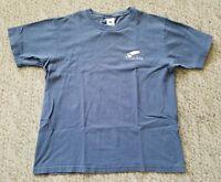 EUC Columbia Men's Short Sleeve Fishing T Shirt  Color Blue Size Medium M