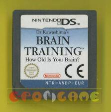 DR KAWASHIMA'S BRAIN TRAINING Nintendo Ds Versione Europea »»»»» SOLO CARTUCCIA
