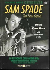 Sam Spade The Final Capers (8-CD SET) Old Time Radio! Steve Dunne Radio Spirits