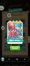 Coin Master Cards Octo Mama Aquarium Set 5X