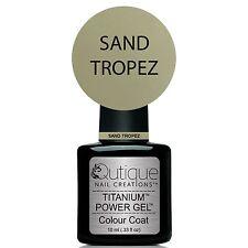 Qutique SAND TROPEZ Gel Nail Polish Colour -Dove Grey -LED & UV
