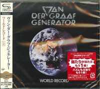 VAN DER GRAAF GENERATOR-WORLD RECORD-JAPAN  SHM-CD BONUS TRACK D50