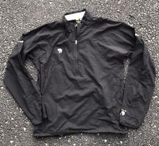 Mountain Hardwear Men's Shirt Small Black 1/4 Zip Pullover Top S