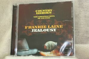 """Country Heroes - Frankie Laine - """"Jealousy"""" CD - The Greatest Hits of Country"""
