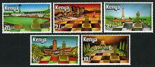 Kenya 319-323, MNH.World Chess Federation,60th ann. Knight,Rook,Bishop,King,1984
