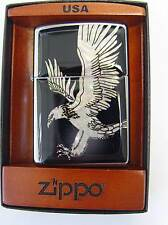 ZIPPO ® Mother of Pearl MADREPERLA AQUILA EAGLE OVP in LEGNO MAGNETICO NUOVO/NEW OVP