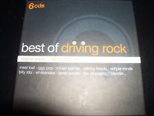 Best Of Driving Rock Various 6 CD FT Kim Wilde Duran Duran XTC Deep Purple & Mor