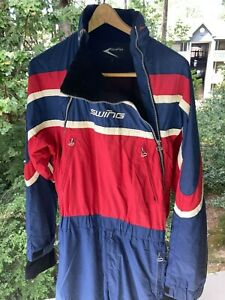 SWING Winter Flying Suit, Large ~ Red, White & Blue ~ Paragliding, Paramotor PPG