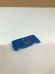 VINTAGE ORIGINAL 1960'S HO SCALE AURORA VIBRATOR DK. BLUE CORVETTE SLOT CAR BODY