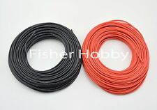 1m Red + 1m Black 12 AWG Heatproof Soft Silicone cable for RC model battery part